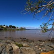 Rio de la Plata river in Colonia del Sacramento - Uruguay — Stock Photo