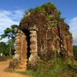 Stock Photo: Temples in My Son - ancient World Heritage Site in Vietnam
