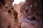 Little Petra - World Heritage Site in Jordan during sunset — Stock Photo