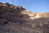 NABATAEAN/ ROMAN THEATRE IN PETRA - JORDAN — Stock Photo