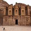 The Monastery in Petra - Jordan - Stock Photo