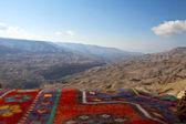 Wadi Mujib Gorge along the King's Highway in Jordan — Stock Photo
