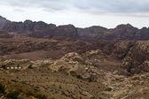 View at the mountains of Petra - Jordan — Stock Photo