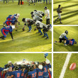 American Football collage — Stock Photo