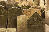 Jewish Cemetery Viewpoint — 图库照片