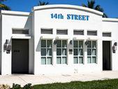 14th street genel tuvalet — Stok fotoğraf
