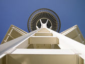 Space Needle Symmetry — Stock Photo