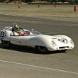 White Lotus Racecar — Stock Photo #8040525