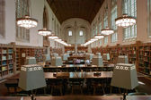 College Library Reading Room — Stock Photo