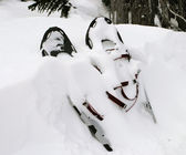 Pair Of Snowshoes — Stock Photo