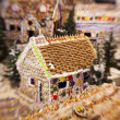 Stock Photo: Gingerbread Dream House