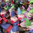 Many Garden Gnomes — Stock Photo