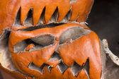 Scary Pumpkin — Stock Photo