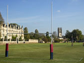 Rugby Fields of Oxford — Stock Photo