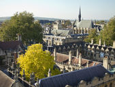 Roofs of Oxford University — Stock Photo