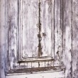 Distressed Gray Door Texture — Stock Photo