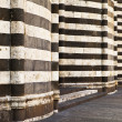 Walls Of The Orvieto Cathedral — Stock Photo