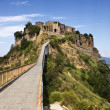 Bridge To Civita — Stock Photo