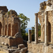 Roman Theatre In Taormina — Stock Photo