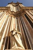 Bell Tower Of The Orvieto Duomo — Stock Photo