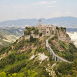 Hill Town Of Civita in Umbria — Foto Stock