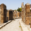 Royalty-Free Stock Photo: A Street In Pompeii