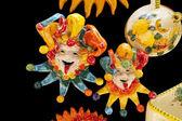 Ceramic Italian Clowns — Stock Photo