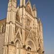 Facade Of Orvieto Duomo — Stock Photo #8682974