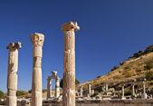 Ancient Pillars of Ephesus — Stock Photo