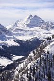 Maroon Bells With Snow — Stock Photo