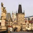 Charles Bridge and Lesser Town — Stock Photo #9964532