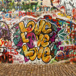 Love On The Lennon Wall — Stock Photo #9982068