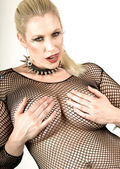 Fishnet Top — Stock Photo