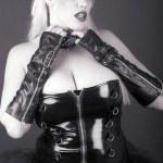 Blonde goth — Stock Photo #8809081