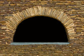 Sandstone Wall Arch — Stock Photo