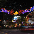 Chinese New Year Dragon Decoration in the New Bridge Road — Stock Photo #10270766
