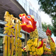 Chinese New Year Dragon Decoration at Mandarin Gallery — Stock Photo #10270835