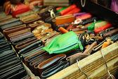 Colored purses — Stock Photo