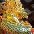 Beautiful dragon statue — Stock Photo #9012965