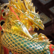 Beautiful dragon statue — Stock Photo