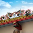 Chinese dragons on a temple — Stock Photo #9392015