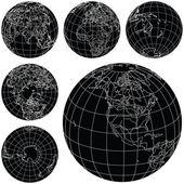 矢量地球 — 图库矢量图片