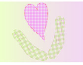 My heart is in your hands — Stock Vector