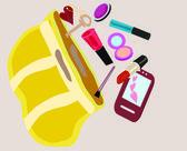 Women's handbags — Stock Vector