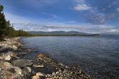 Lake Baikal in August — Stock Photo
