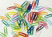 Paper clips — Zdjęcie stockowe