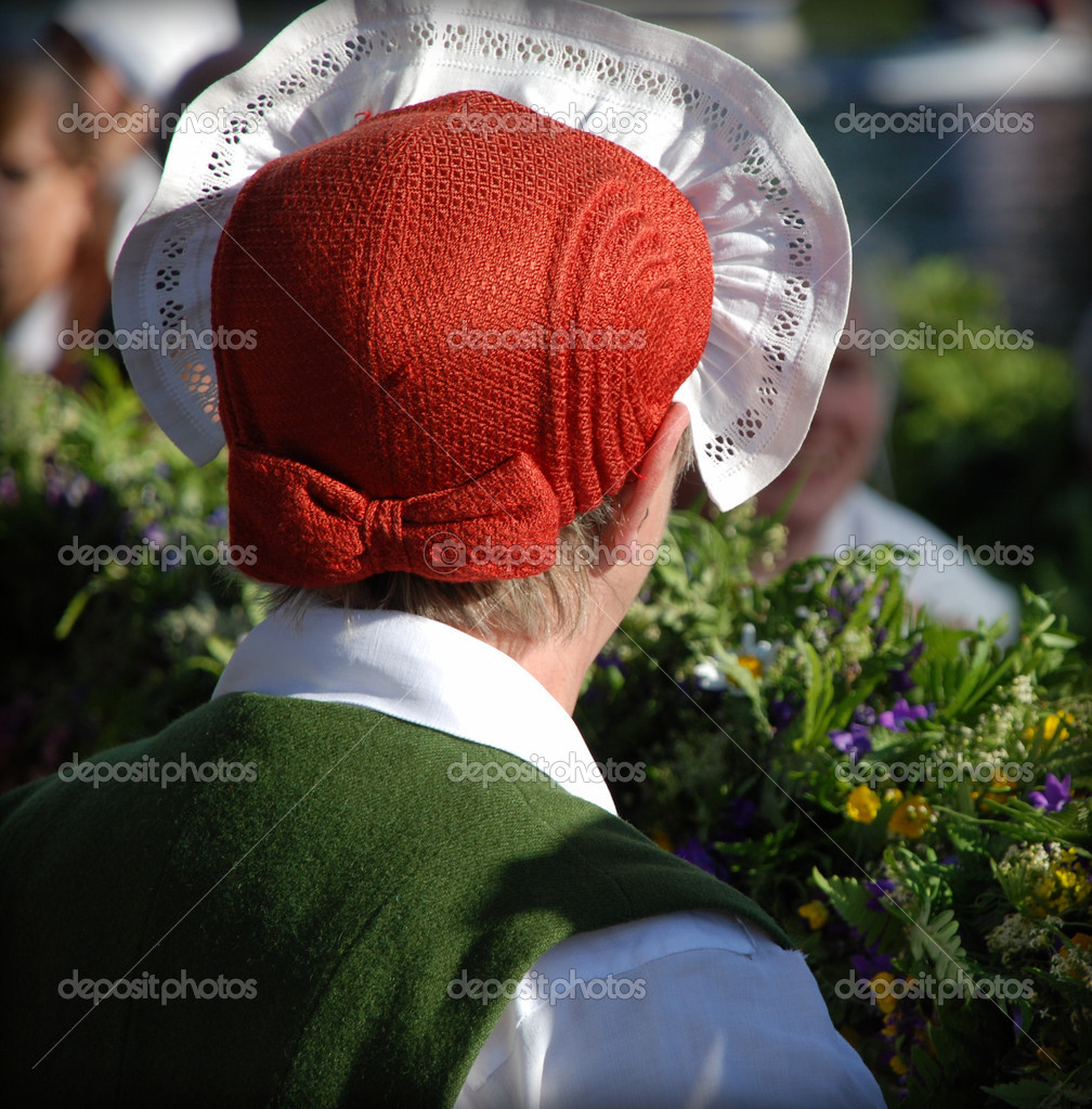 Swedish folklore tradition — Stock Photo #9301140