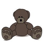 玩具熊 — 图库矢量图片
