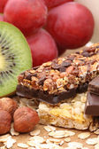 Chocolate muesli bar — Stock Photo