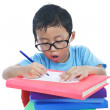 Adorable child studying — Stock Photo #10141764
